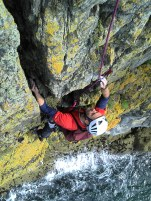 Traditional Rock Climbing on the sea cliffs of Gogarth, situated on the western tip of Anglesey are the stuff of legend.