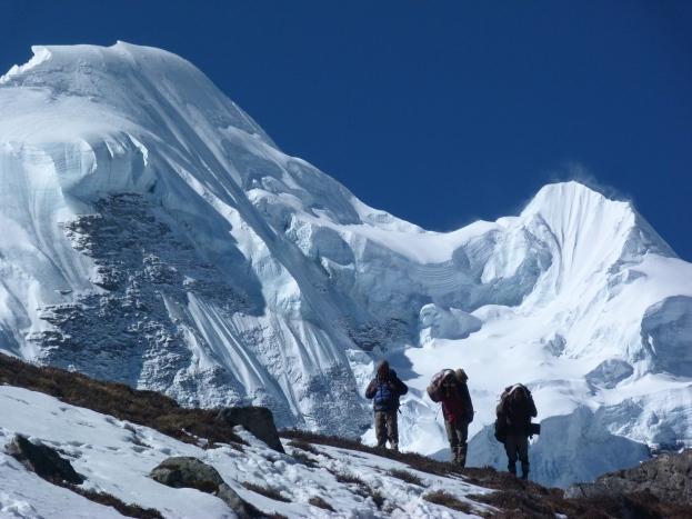 Local team members, Mera Peak, Nepal